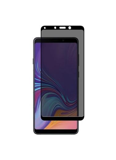 Microsonic Microsonic Samsung Galaxy A9 2018 Privacy 5D Gizlilik Filtreli Cam Ekran Koruyucu Siyah